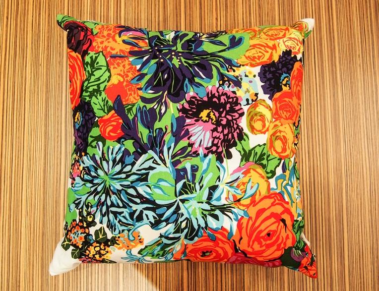 Kenzo Maison, flower garden pillow