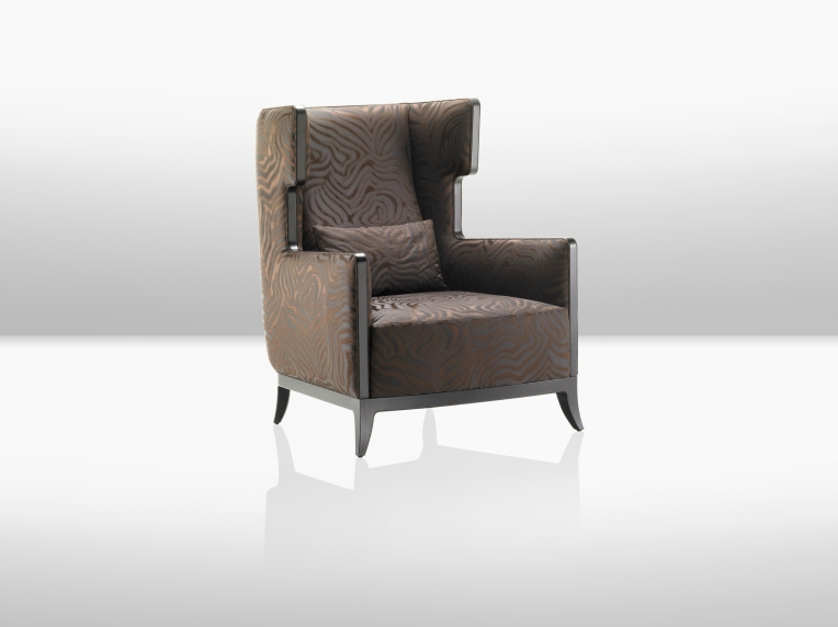 Fendi Casa Kate Armchair with Wingback