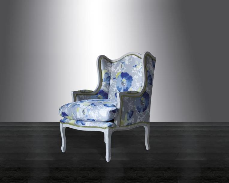 Kenzo Maison Louis Wingback Chair