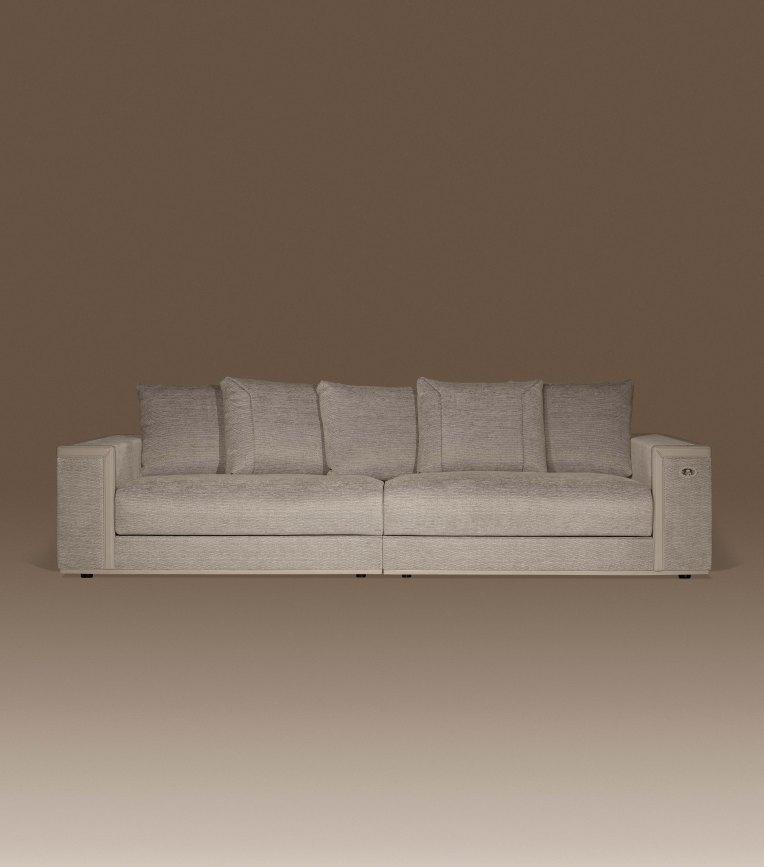 Fendi Casa Achille 4 seater sofa
