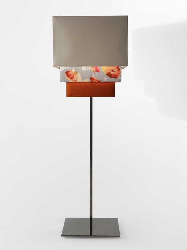 Kimono Standing Lamp in Silk