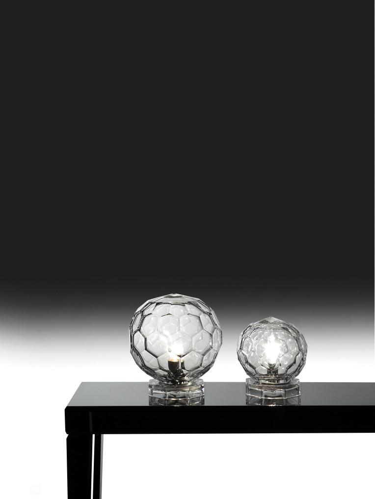 Fendi Casa, Diamante Table Lamps made from Murano Glass