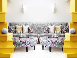 Custom Upholstered Furniture in Signature Missoni Home Fabrics