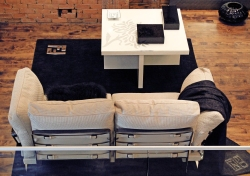 Metropolitan Sofa by Fendi Casa