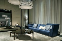 FF Borromini sectional sofa_Regina 2 coffee tables
